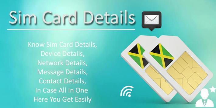 Mobile Sim Card Details poster