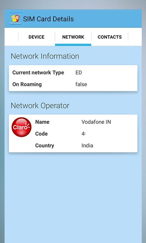 Mobile Sim Card Details for Android - APK Download