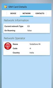 Mobile Sim Card Details screenshot 5