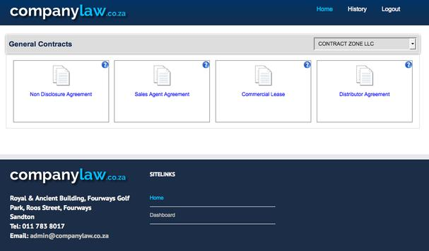 companylaw.co.za screenshot 7