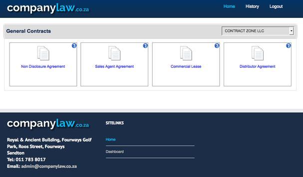 companylaw.co.za screenshot 11