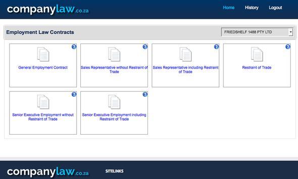 companylaw.co.za screenshot 3