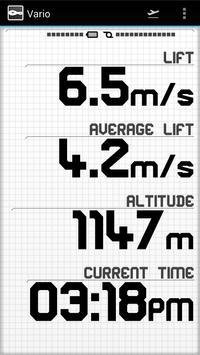 Vario Variometer screenshot 2