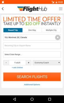 FlightHub - Book Cheap Flights, Hotels and Cars apk screenshot