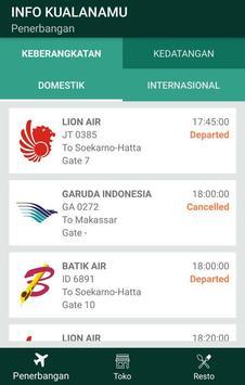 Info Kualanamu screenshot 2