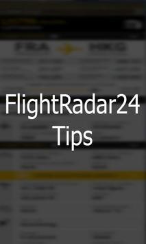 Free Flightradar24 Flight Tips poster