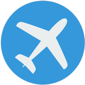 Search Flights Booking icon