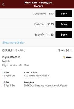 Search Flights Booking apk screenshot