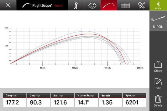 FlightScope Mevo Golf apk screenshot