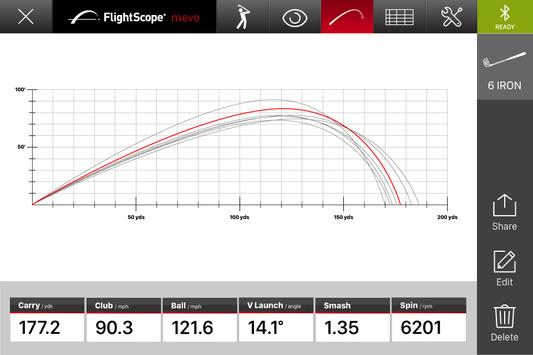 FlightScope Mevo Golf screenshot 1