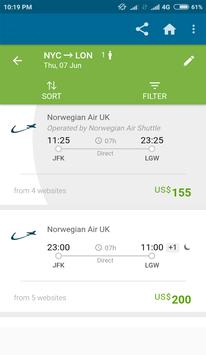Cheap Flight - Best Compare Flight and Hotel Rates screenshot 2