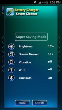 Battery Charger Saver: Cleaner apk screenshot