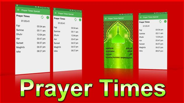 Prayer Times Special apk screenshot