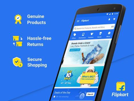Flipkart Online Shopping App poster