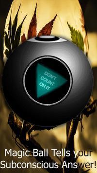 Psychic Magic 8 Ball Crystal Medium Answers Game apk screenshot
