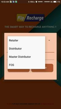 Flip Multi Recharge B2B apk screenshot
