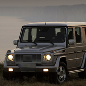 Jigsaw Puzzles Mercedes Benz G icon