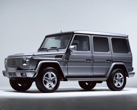 Jigsaw Puzzles Mercedes Benz G screenshot 3