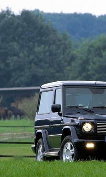 Jigsaw Puzzles Mercedes Benz G screenshot 2