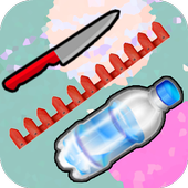 Flippy Flappy Knife Frontier Space Bottle Extreme icon