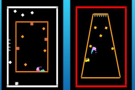 Fishy Square Jumping screenshot 1