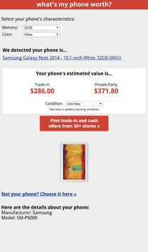 What's My Phone Worth? apk screenshot