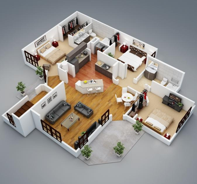 3D Floor Plan For Android