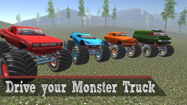 Monster Truck 4x4 Driving poster