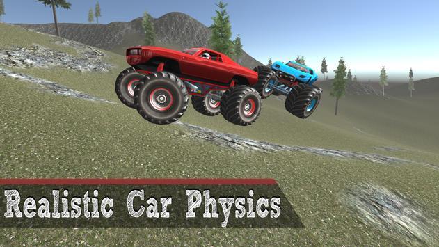 Monster Truck Game - 4x4 Driving screenshot 1