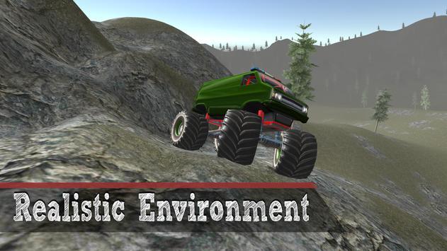 Monster Truck 4x4 Driving apk screenshot