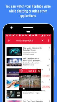 Floating Video Popup - Video Floating Player for Y apk screenshot