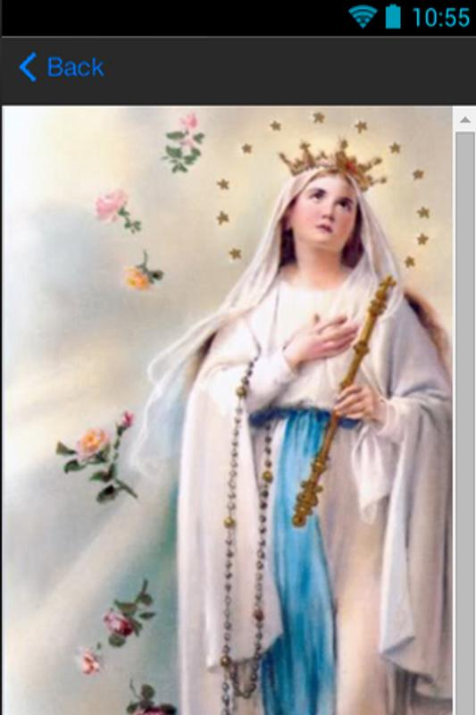 Mother Mary Phone Wallpapers Apk Screenshot