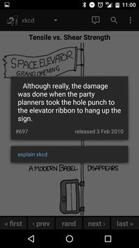 Browser for xkcd screenshot 1