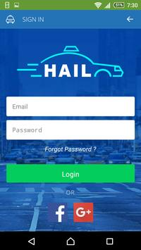Hail - Taxi Booking Demo screenshot 1