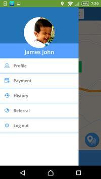 Hail - Taxi Booking Demo apk screenshot