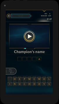 Quiz of League of Legends screenshot 16