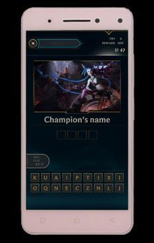 Quiz of League of Legends screenshot 1