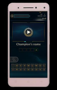 Quiz of League of Legends screenshot 2