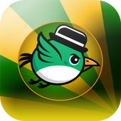 Flying Happy Bird icon