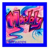 Design Graffiti Name icon