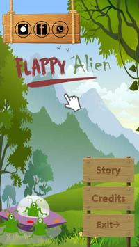 Flappy Alien poster