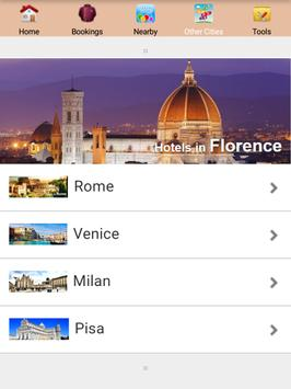 Florence Hotels poster
