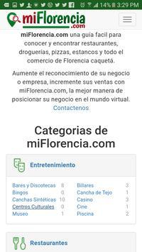 miFlorencia screenshot 5