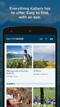 Kaltern Guide poster