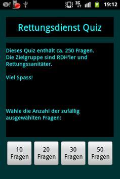 Rettungsdienst Quiz apk screenshot