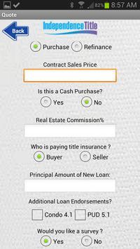 Closing Cost Calculator apk screenshot