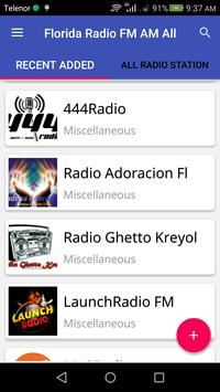 Florida Radio FM & AM All screenshot 2