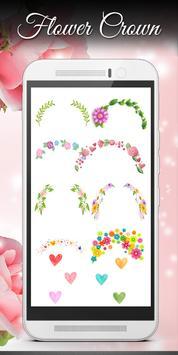 Flower crown Photo Editor screenshot 14