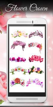 Flower crown Photo Editor screenshot 17