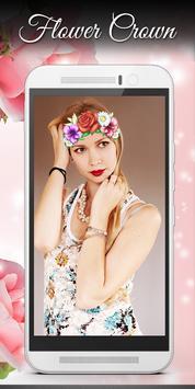 Flower crown Photo Editor screenshot 6